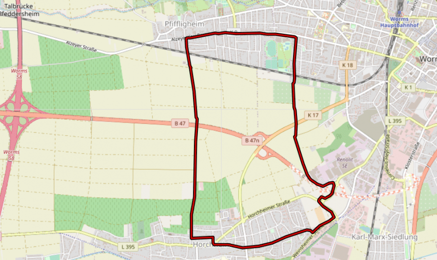 Fluchtweg aus Worms-Horchheim entdeckt