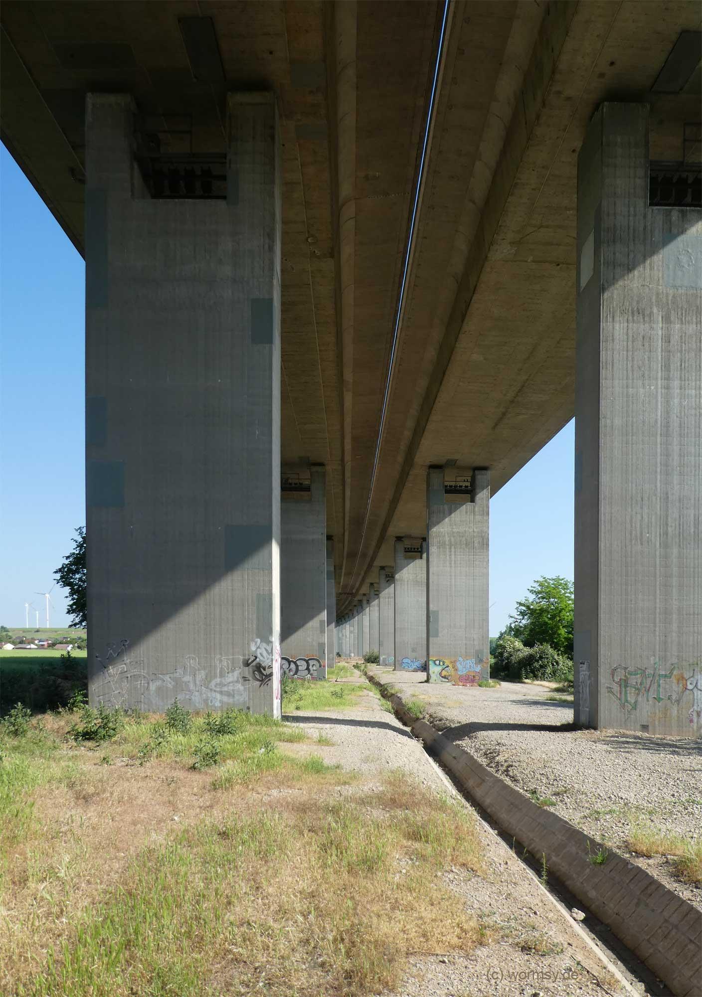 Talbrücke Worms-Pfeddersheim