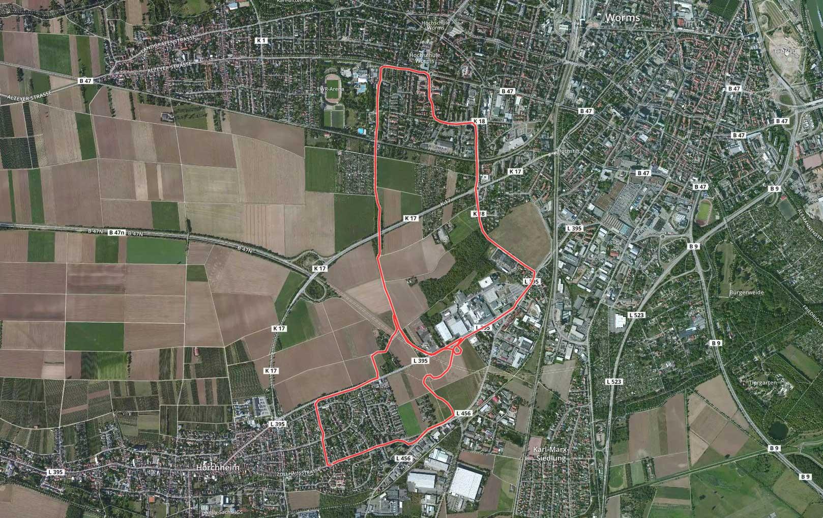 Inliner Track Horchheim - Worms - Horchheim