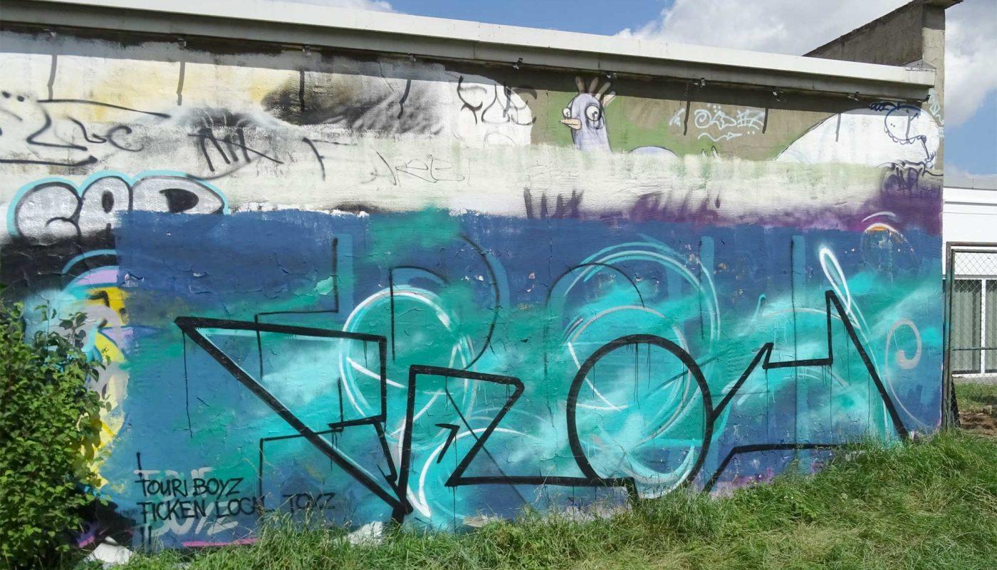 Graffiti in Worms - TouriBoyz