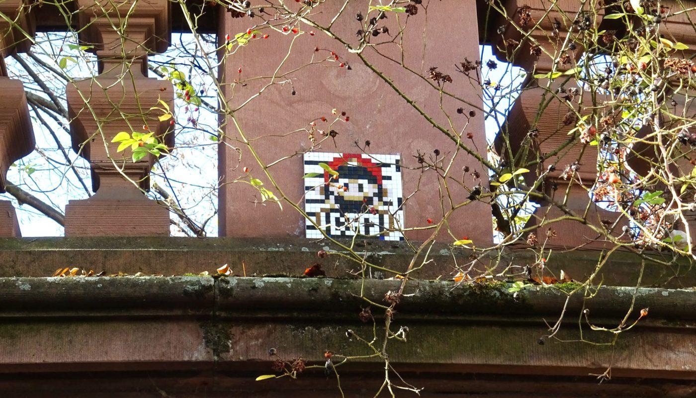 Mario Graffito am Heylshof, Worms