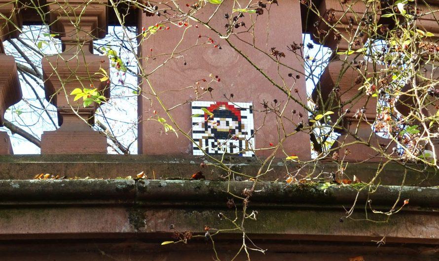 Noch mehr Mosaik-Graffiti in Worms und bei Frankenthal