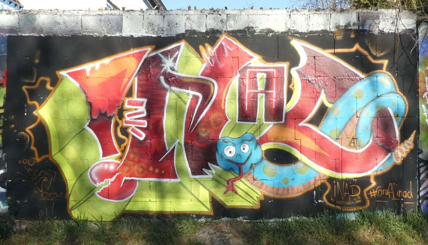 Graffiti HoF Worms März 2021