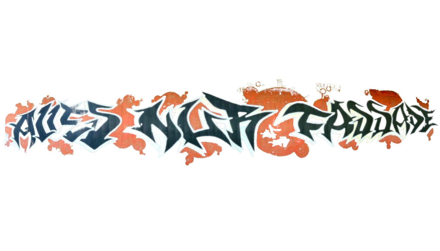 Graffiti Alles nur Fassade