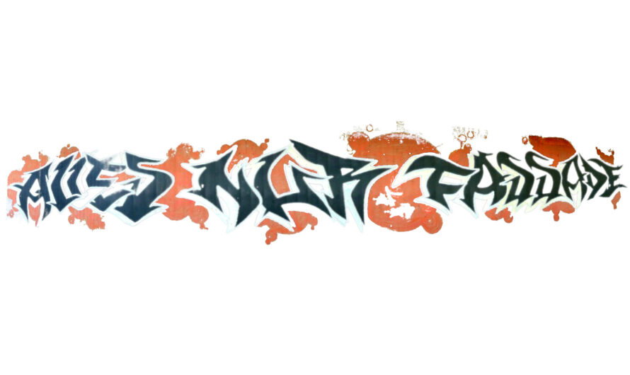 Graffiti Worms Kimmelhorstweg: Alles nur Fassade
