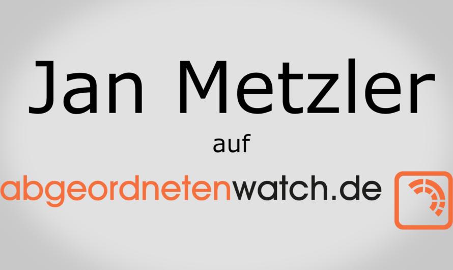 Jan Metzler lädt zum Gespräch in Worms